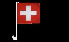 Switzerland Car Flag - 12 x 12 inch