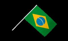 Brazil Hand Waving Flag - 2 x 3 ft.