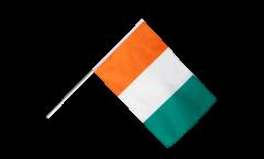 Ivory Coast Hand Waving Flag - 2 x 3 ft.