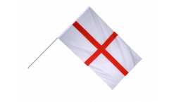 England St. George Hand Waving Flag - 2 x 3 ft.