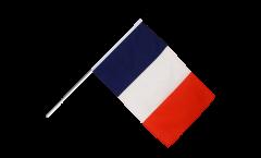 France Hand Waving Flag - 2 x 3 ft.