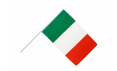 Italy Hand Waving Flag - 2 x 3 ft.