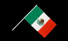 Mexico Hand Waving Flag - 2 x 3 ft.