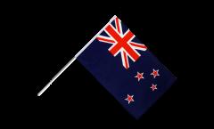 New Zealand Hand Waving Flag - 2 x 3 ft.