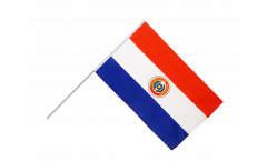 Paraguay Hand Waving Flag - 2 x 3 ft.