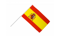 Spain Hand Waving Flag - 2 x 3 ft.