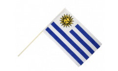 Uruguay Hand Waving Flag - 2 x 3 ft.