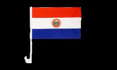 Paraguay Car Flag - 12 x 16 inch