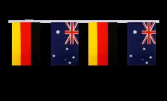 Germany - Australia Friendship Bunting Flags - 5.9 x 8.65 inch