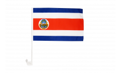 Costa Rica Car Flag - 12 x 16 inch
