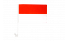 Indonesia Car Flag - 12 x 16 inch