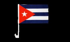 Cuba Car Flag - 12 x 16 inch