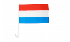 Luxembourg Car Flag - 12 x 16 inch