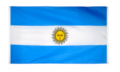 Argentina Flag for balcony - 3 x 5 ft.