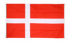 Denmark Flag for balcony - 3 x 5 ft.