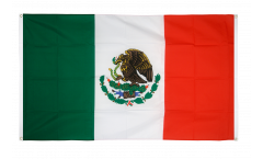 Mexico Flag for balcony - 3 x 5 ft.