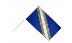 France Champagne-Ardenne Hand Waving Flag - 2 x 3 ft.