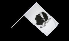 France Corsica Hand Waving Flag - 2 x 3 ft.