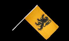 France Nord-Pas de Calais Hand Waving Flag - 2 x 3 ft.