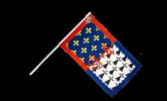 France Pay de la Loire Hand Waving Flag - 2 x 3 ft.