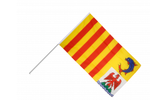 France Provence-Alpes-Côte d'Azur Hand Waving Flag - 2 x 3 ft.