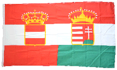 Austria-Hungary civil ensign 1867-1918 Flag - 3 x 5 ft. / 90 x 150 cm