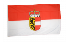 Austria Salzburg Flag