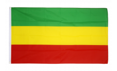 Ethiopia without crest, Rasta Flag
