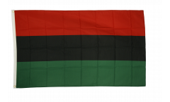 African American UNIA-ACL Flag - 3 x 5 ft. / 90 x 150 cm