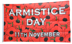 Armistice Day 11th November Flag - 3 x 5 ft. / 90 x 150 cm