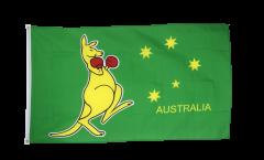 Australia kangaroo Flag