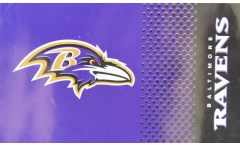 NFL Baltimore Ravens Fan Flag - 3 x 5 ft. / 90 x 150 cm