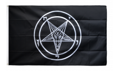 Baphomet Church of Satan Flag - 3 x 5 ft.