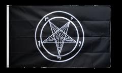 Baphomet Church of Satan Flag