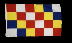 Belgium Antwerp Flag - 3 x 5 ft. / 90 x 150 cm