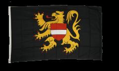 Belgium Flemish Brabant Flag