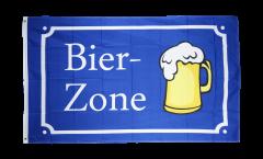 Beer Bier-Zone Flag - 3 x 5 ft. / 90 x 150 cm