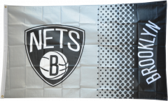 NBA Brooklyn Nets Flag - 3 x 5 ft. / 90 x 150 cm