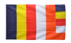 Buddhist Flag - 3 x 5 ft. / 90 x 150 cm