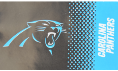 NFL Carolina Panthers Fan Flag - 3 x 5 ft. / 90 x 150 cm