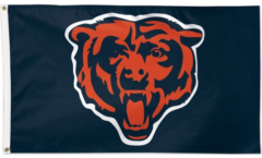 NFL Chicago Bears Flag - 3 x 5 ft. / 90 x 150 cm