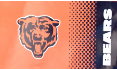 NFL Chicago Bears Fan Flag - 3 x 5 ft. / 90 x 150 cm