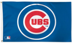 MLB Chicago Cubs Flag - 3 x 5 ft. / 90 x 150 cm