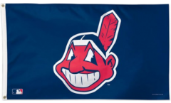 MLB Cleveland Indians Flag - 3 x 5 ft. / 90 x 150 cm