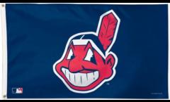 MLB Cleveland Indians Flag - 3 x 5 ft. / 90 x 150 cm