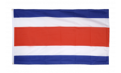 Costa Rica without coat of arms Flag