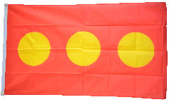 Denmark Freetown Christiania Flag - 3 x 5 ft.
