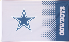 NFL Dallas Cowboys Fan Flag - 3 x 5 ft. / 90 x 150 cm