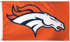 NFL Denver Broncos Flag - 3 x 5 ft. / 90 x 150 cm