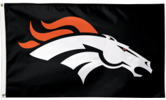 Denver Broncos Black Flag
